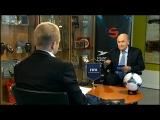 Президент ФИФА на фарерском ТВ (разговор на английском; фарерские субтитры) // Фарерские острова / Фареры - Faroe Islands